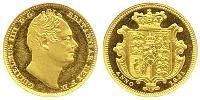 1/2 Sovereign Regno Unito di Gran Bretagna e Irlanda (1801-1922) Oro Guglielmo IV (1765-1837)