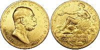 100 Corona Австро-Венгрия (1867-1918) Золото Франц Иосиф I (1830 - 1916)