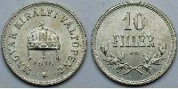 10 Filler Hungría (1989 - ) Plata