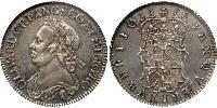 1/2 Crown Commonwealth of England (1649-1660) Silber