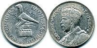 1 Шиллинг Родезия (1965 - 1979) Серебро