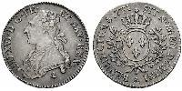 1/2 Ecu Kingdom of France (843-1791) Argent Louis XVI de France (1754 - 1793)