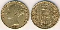 1 Sovereign United Kingdom (1707 - ) Gold