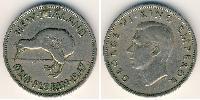 1 Florin New Zealand Copper-Nickel