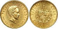 4 Peso Cuba Gold Jose Julian Marti Perez (1853 - 1895)