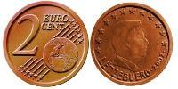 2 Eurocent Luxembourg Copper/Steel