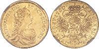Ducat Principality of Transylvania (1571-1711) / Holy Roman Empire (962-1806) Gold Maria Theresa of Austria (1717 - 1780)