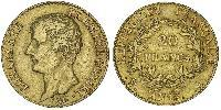 20 Franc First French Empire (1804-1814) Gold Napoleon Bonaparte  (1769 - 1821)