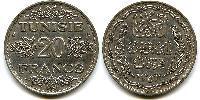 20 Franc Tunisia