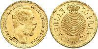 1 Carolin / 10 Franc Sweden Gold Oscar II of Sweden (1829-1907)