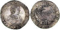 1 Ducaton Нидерланды Серебро Карл II король Испании (1661-1700)