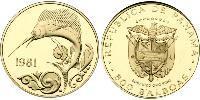 500 Balboa Republic of Panama Gold