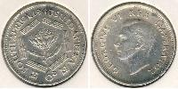 1 Sixpence South Africa Silver George VI (1895-1952)