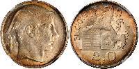 20 Franc Belgio Argento