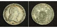 1/2 Thaler Austrian Empire (1804-1867) Silver Francis II, Holy Roman Emperor (1768 - 1835)