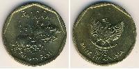 100 Rupiah Indonesia Aluminium-Bronze