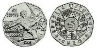 5 Euro Republic of Austria (1955 - )