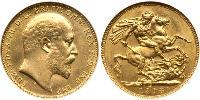 1 Sovereign Canada Gold Edward VIII (1894-1972)