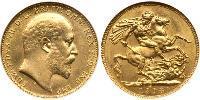 1 Sovereign Canada Oro Edoardo VIII (1894-1972)