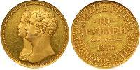 10 Ruble Russian Empire (1720-1917) Gold Nicholas I of Russia (1796-1855)