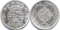 20 Escudo Portugal / Portuguese Angola (1575-1975) Silver