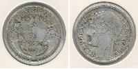 1 Franc Vichy France (1940-1944) Aluminium