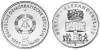 5 Mark German Democratic Republic (1949-1990) Copper-Nickel-Zinc