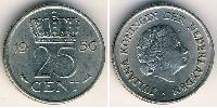 25 Cent Kingdom of the Netherlands