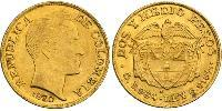 2½ Peso Republic of Colombia (1886 - ) Gold Simon Bolivar (1783 - 1830)