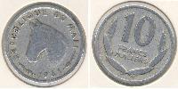 10 Franc Mali Aluminium