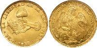 8 Escudo Centralist Republic of Mexico (1835 - 1846) Gold