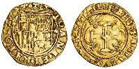1 Escudo Habsburg Spain (1506 - 1700) Gold