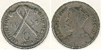 6 Penny Southern Rhodesia (1923-1980) Silver