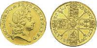 2 Guinea Kingdom of Great Britain (1707-1801) Gold George I (1660-1727)