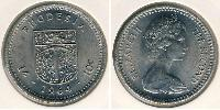 1 Shilling / 10 Cent Southern Rhodesia (1923-1980) Copper-Nickel 