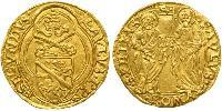 1 Ducat Papal States (752-1870) Gold Pope Paul II (1417-1471)