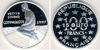 100 Франк Франция Серебро