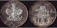 4 Pound Malta Silver