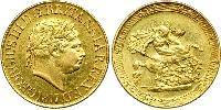 1 Sovereign United Kingdom / United Kingdom of Great Britain and Ireland (1801-1922) Gold George III (1738-1820)