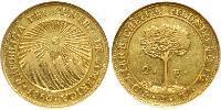 2 Escudo Federal Republic of Central America (1823 - 1838) / Costa Rica Gold