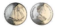 1 Crown Tristan da Cunha  Elizabeth II (1926-)