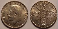 1 Shilling United Kingdom of Great Britain and Ireland (1801-1922) Silver George V of the United Kingdom (1865-1936)