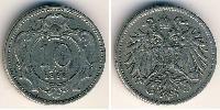 10 Heller Austria-Hungary (1867-1918) Copper-Nickel