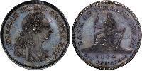 1 Шилінг Сполучене королівство Великобританії та Ірландії (1801-1922) Срібло Георг III (1738-1820)