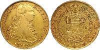 8 Escudo Vicereame della Nuova Spagna (1519 - 1821) Oro Carlo IV di Spagna (1748-1819)
