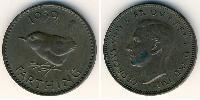 1 Farthing United Kingdom (1707 - ) Copper