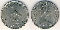 2 Shilling / 20 Cent Rhodesia (1965 - 1979) Copper-Nickel