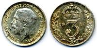 1 Threepence United Kingdom of Great Britain and Ireland (1801-1922) Silver George V of the United Kingdom (1865-1936)