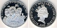 5 Dollar Cook Islands Silver