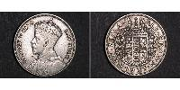 12 Crown New Zealand Silver George V of the United Kingdom (1865-1936)